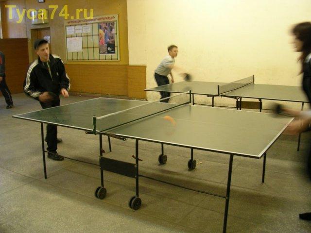 Развлечние - Настольный теннис