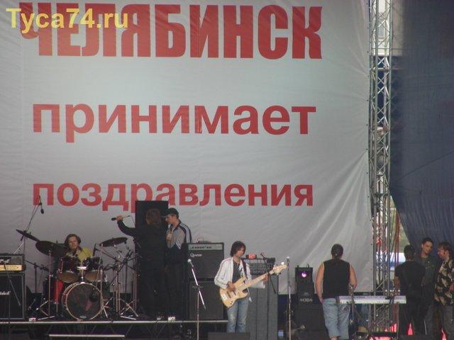 Подготовка к концерту на площади Революции