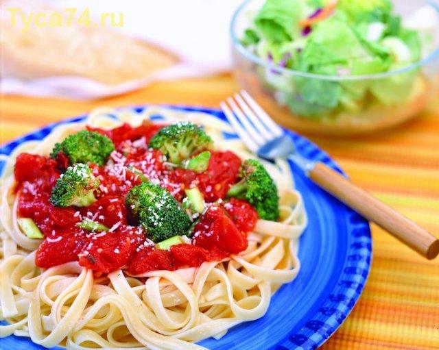 Итальянская паста с брокколи